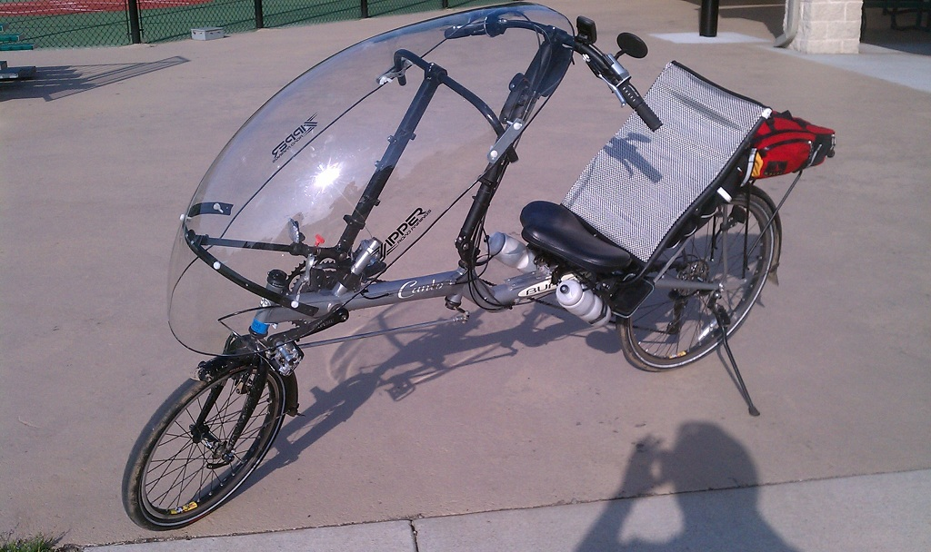Building My Own Recumbent Bike Fairing Mounting System