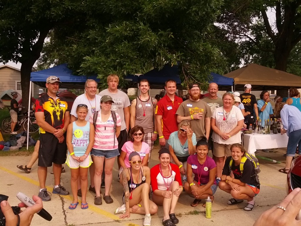 RAGBRAI Virgins (first time riders)